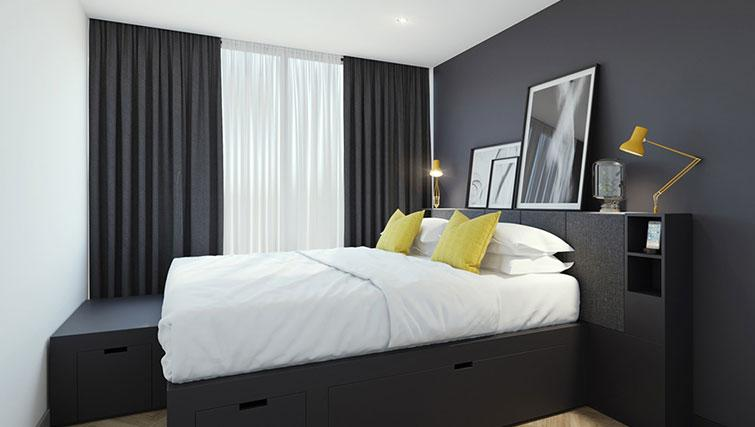 Bedroom at Staycity Aparthotel Dublin Castle