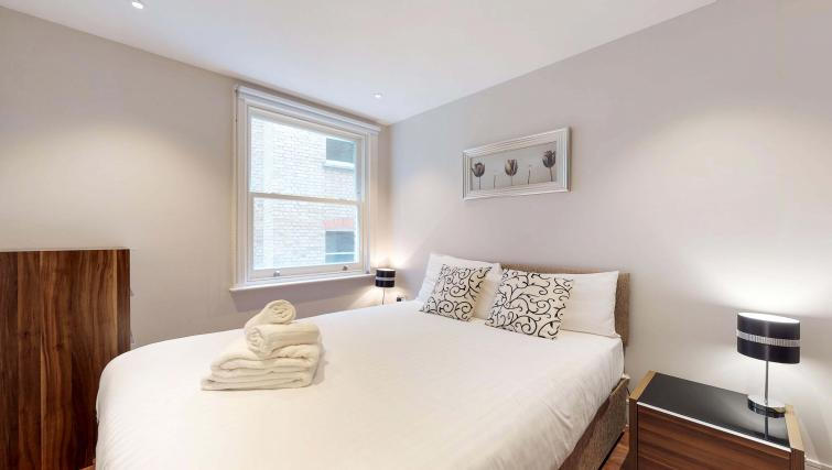 Bedroom at Lovat Lane Apartment