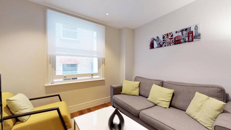 Living room at Lovat Lane Apartment