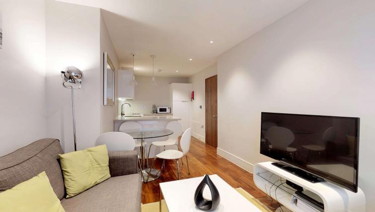 TV at Lovat Lane Apartment