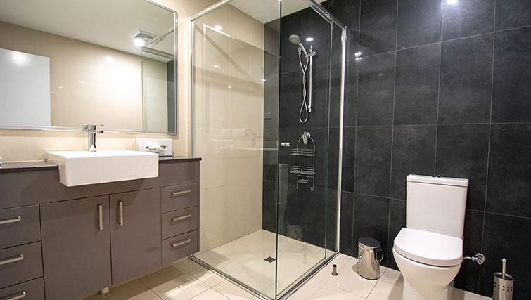 Bathroom at RNR Darwin Serviced Apartments