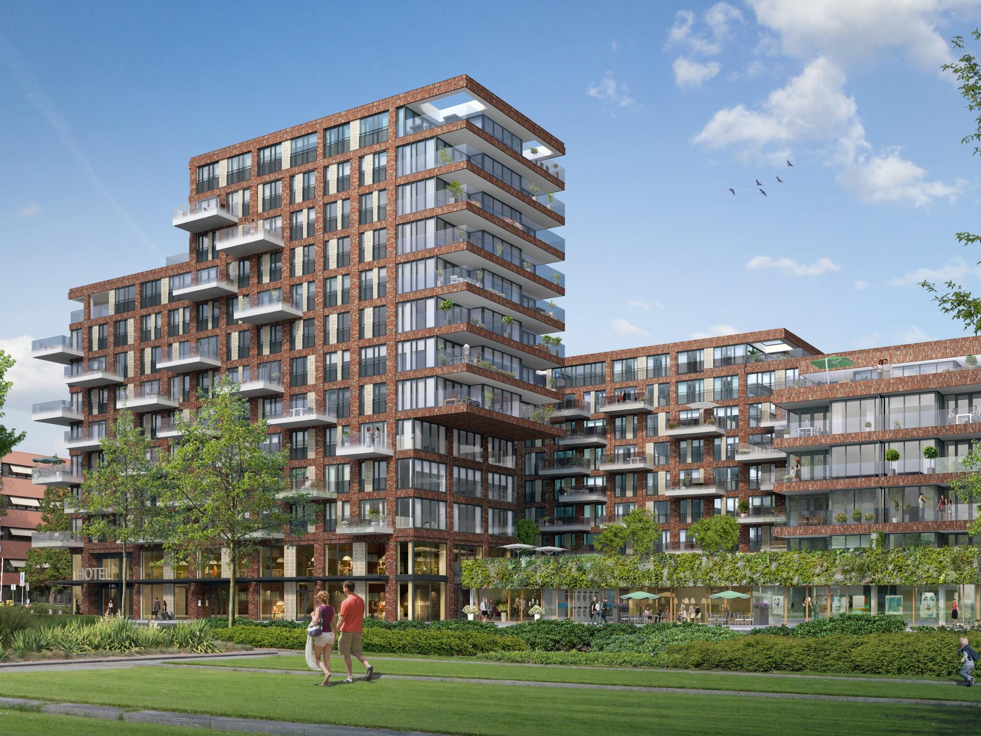 Exterior at The Garden Apartments, Amsterdam