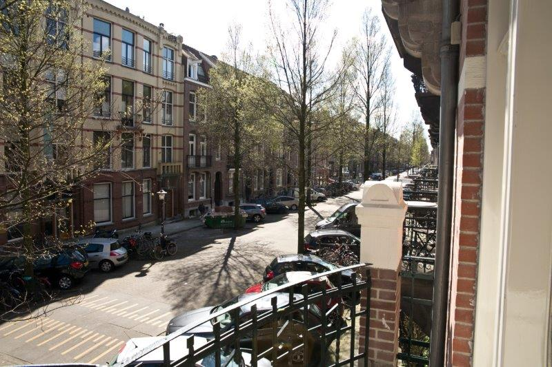 Balcony view at Cityden Museum Square Apartments, Amsterdam