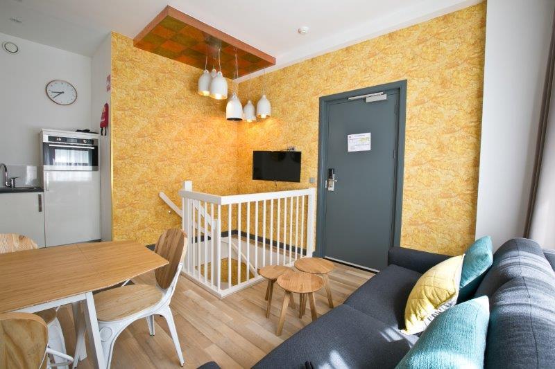 Duplex apartment at Cityden Museum Square Apartments, Amsterdam