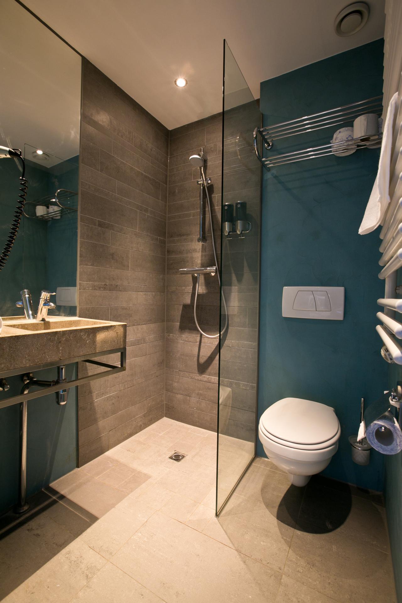Bathroom at Cityden Museum Square Apartments, Amsterdam