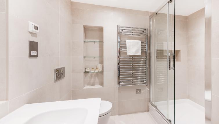 Bathroom at BE: Drury Lane Apartments