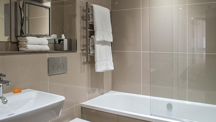 Bathroom at The Chronicle Aparthotel
