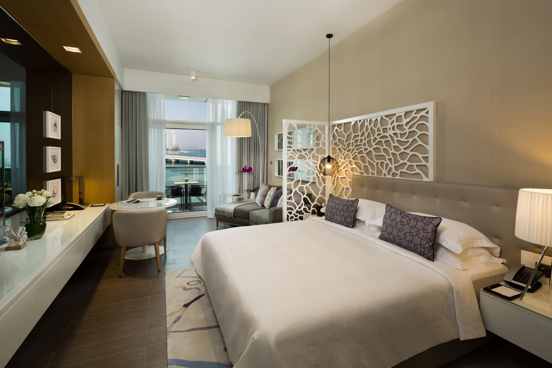 Bedroom at Beach Rotana Residences