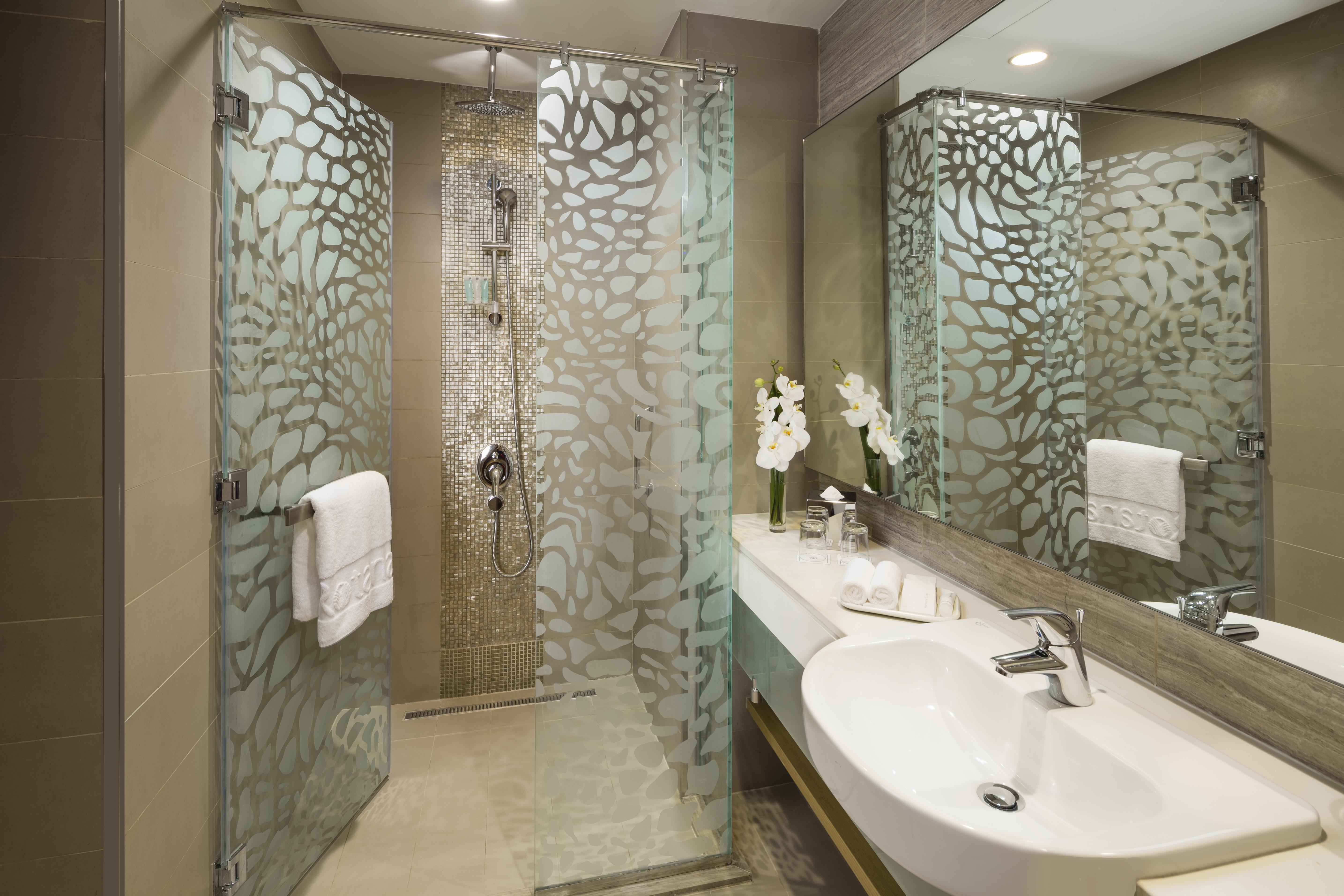 Shower at Beach Rotana Residences