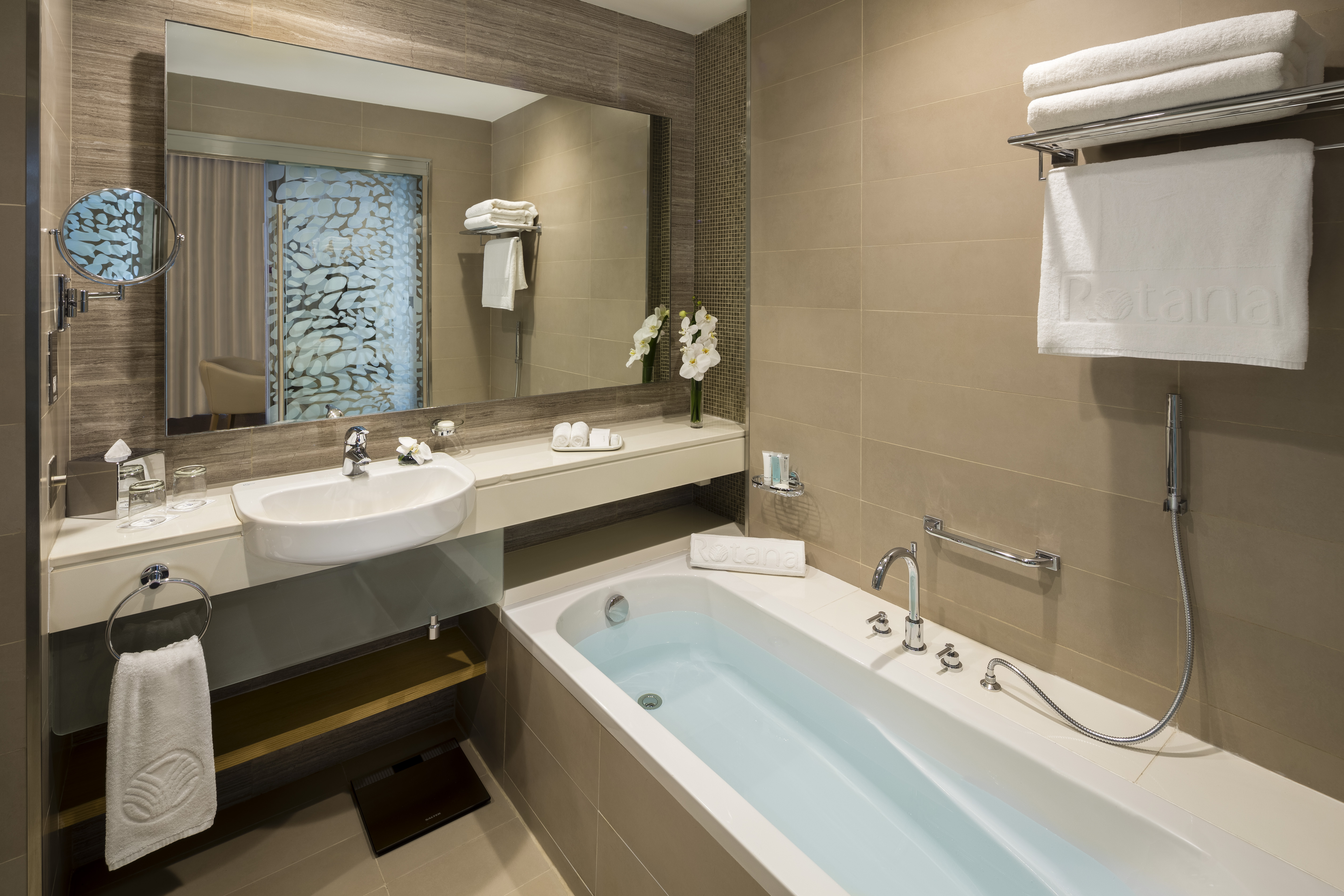 Bath at Beach Rotana Residences