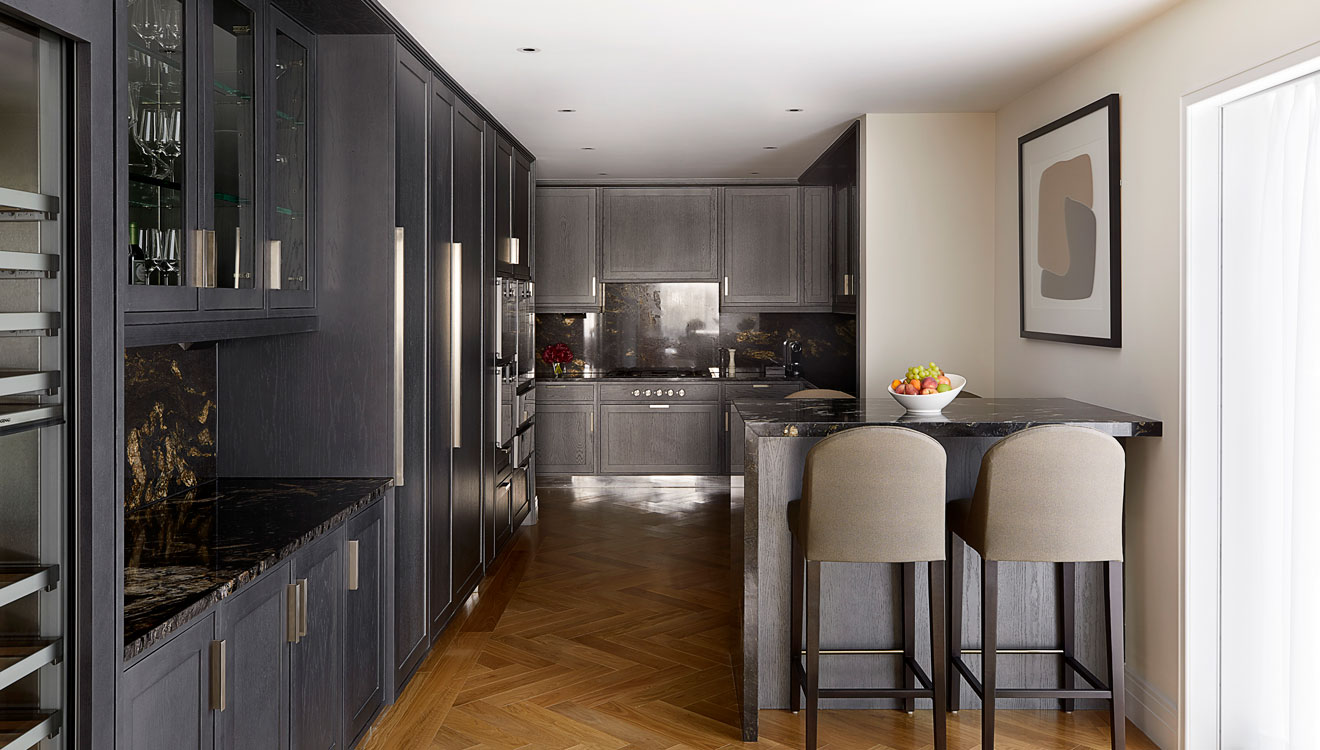 Kitchen at Four Seasons Residences - Ten Trinity Square