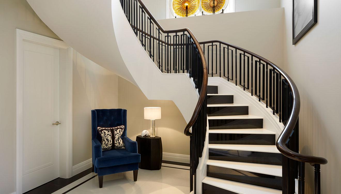 Stairs at Four Seasons Residences - Ten Trinity Square