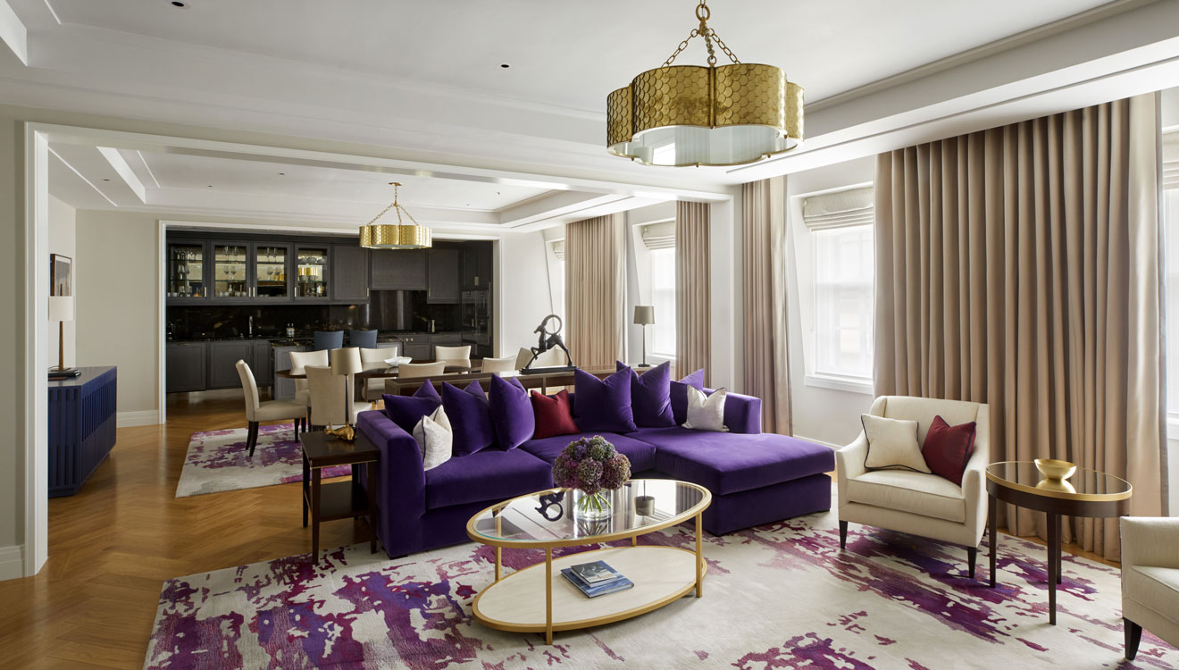 Sofa at Four Seasons Residences - Ten Trinity Square