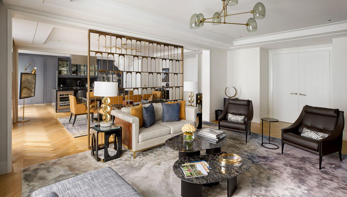 Coffee table at Four Seasons Residences - Ten Trinity Square