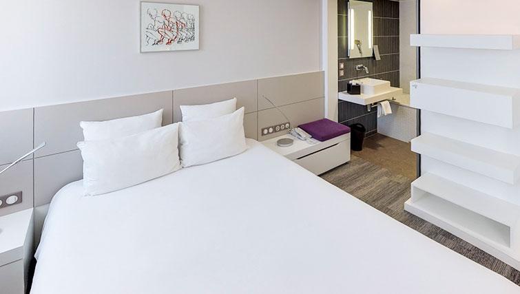Bedroom at JF Kennedy Quarter Suites