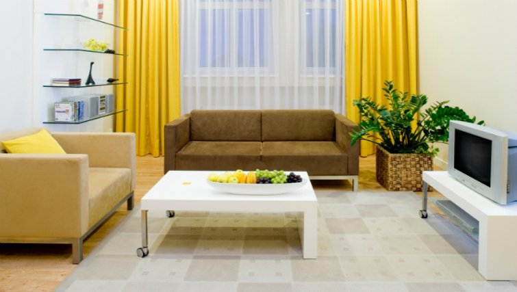 Vibrant living area at Mamaison Residence Sulekova