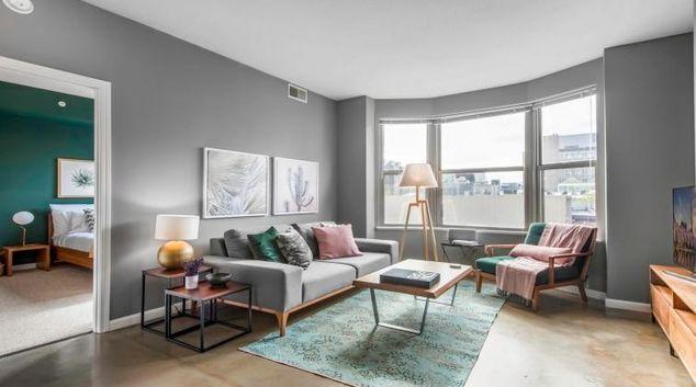 Living room at Elington Apartment