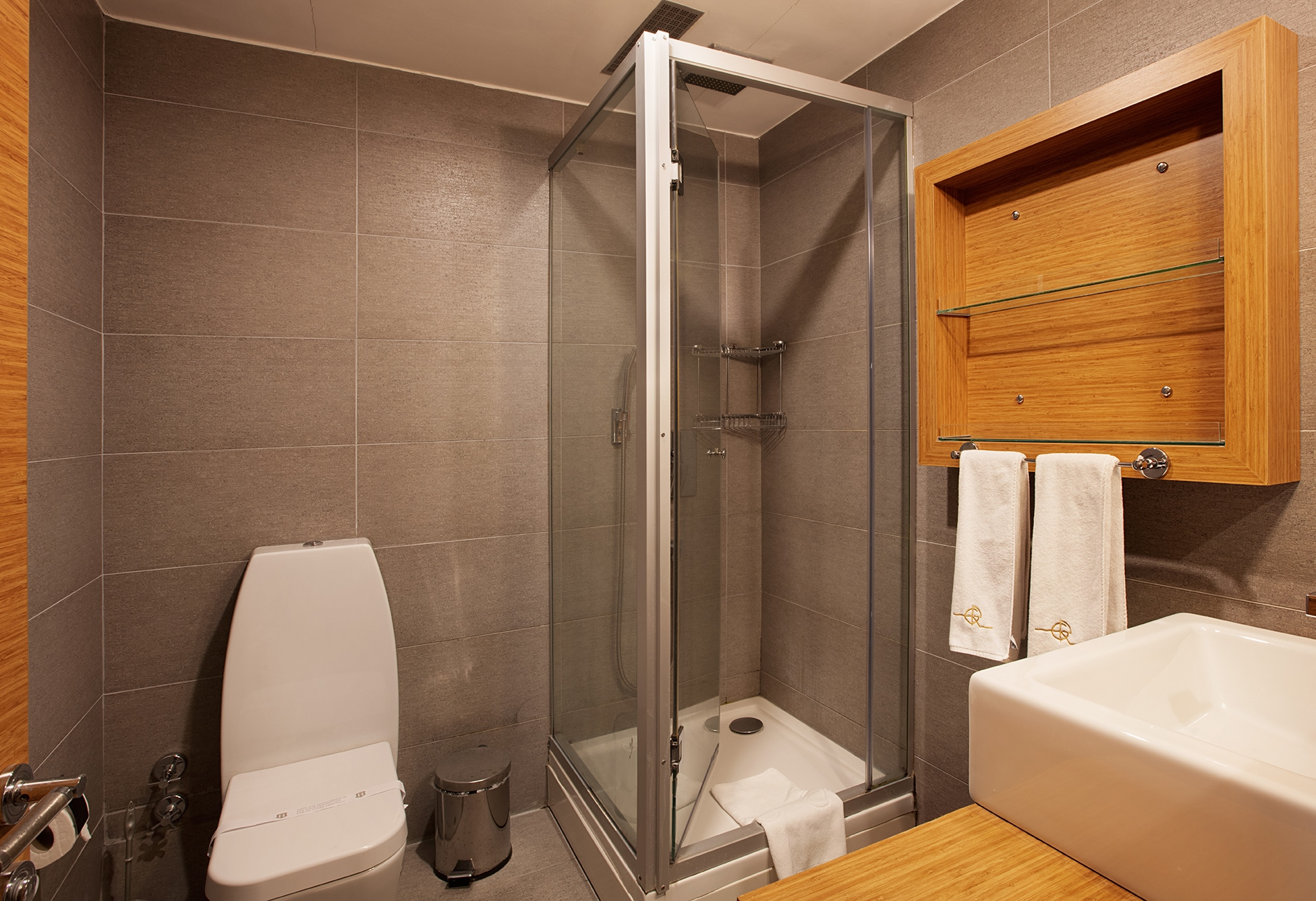 Shower at Gallery Residence, Sisli, Istanbul