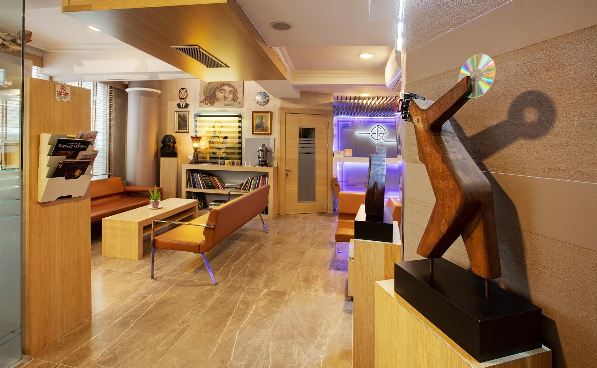 Lobby at Gallery Residence, Sisli, Istanbul
