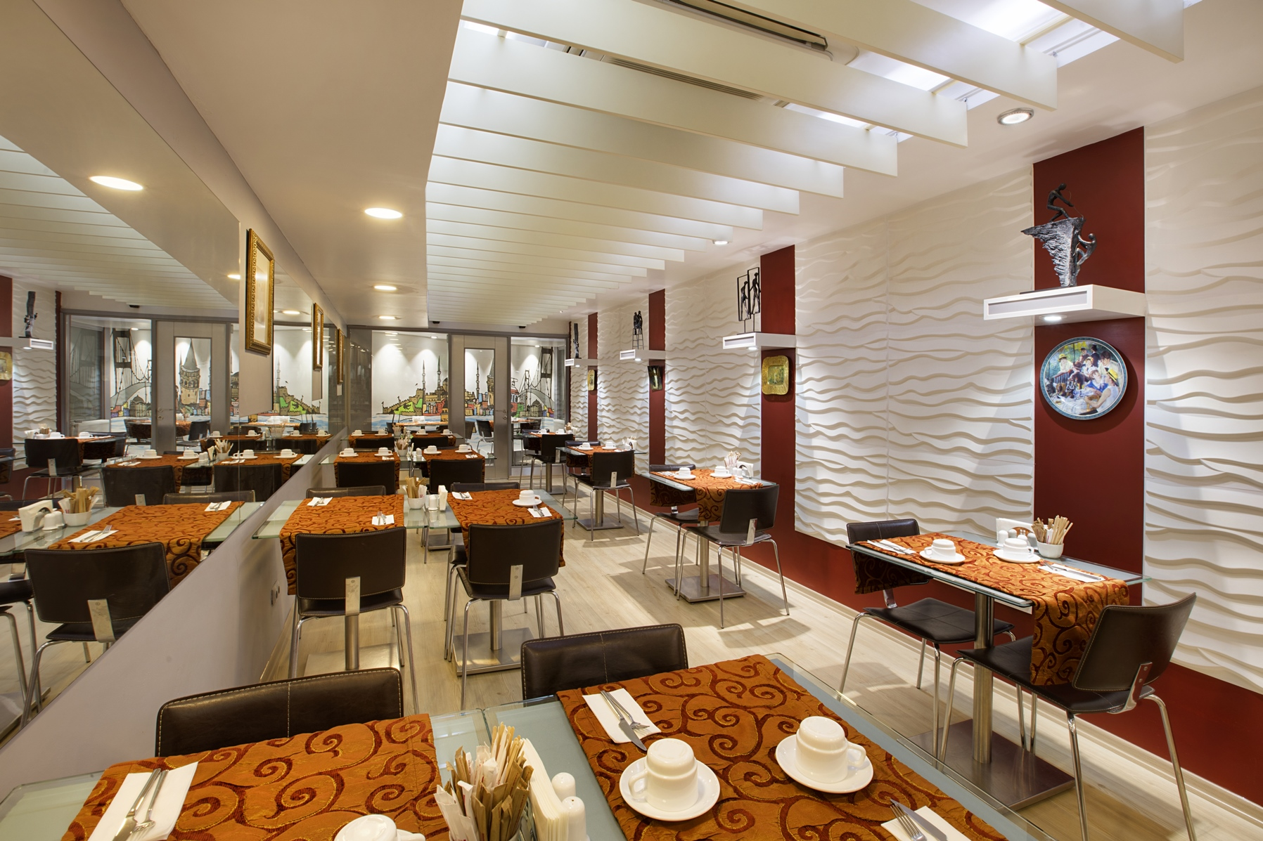 Restaurant at Gallery Residence, Sisli, Istanbul