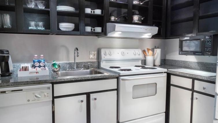 Stylish kitchen in Avenue Suites Georgetown