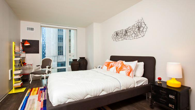 Double room at 9th Street Apartment