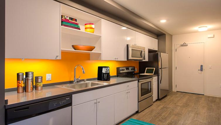 Kitchen at 9th Street Apartment