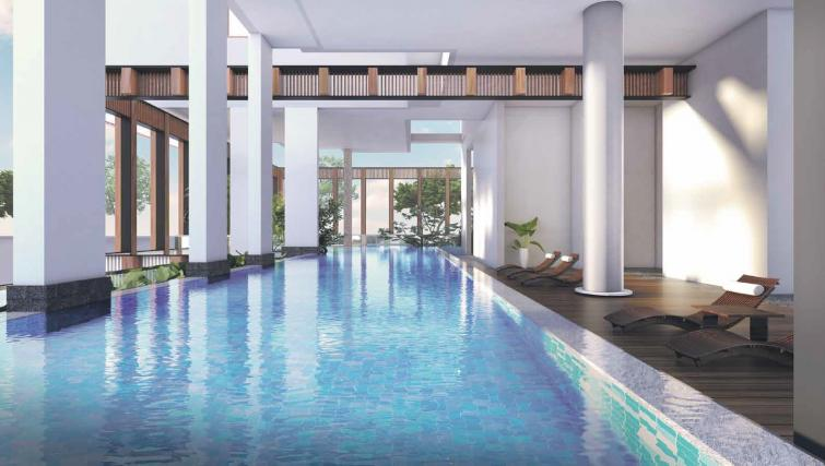 Pool at Ariva On Shan Serviced Residences, Singapore
