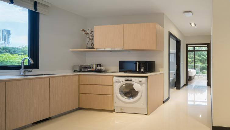 Kitchen at Ariva On Shan Serviced Residences, Singapore