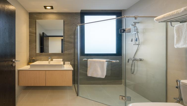 Bathroom at Ariva On Shan Serviced Residences, Singapore