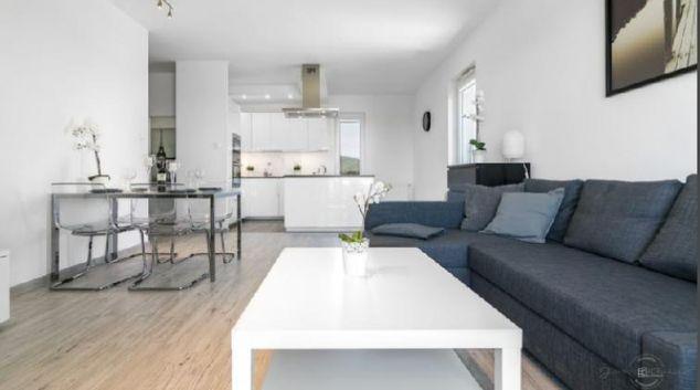 Living area at Harmony Apartments, Oliwa, Gdansk