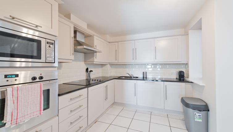 Kitchen at Iveagh Court Apartments