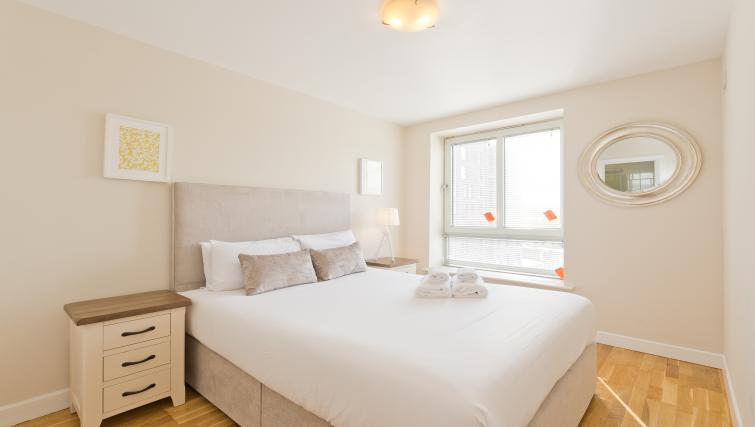 Bedroom at Iveagh Court Apartments