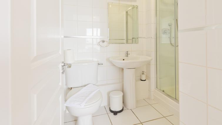 Bathroom at Iveagh Court Apartments