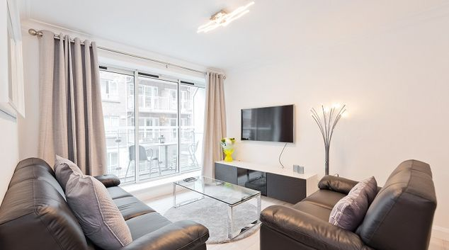 TV at Iveagh Court Apartments