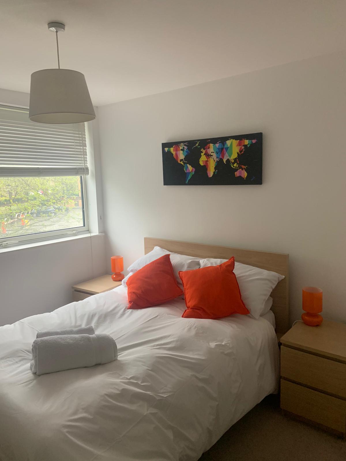 Bedding at Ocean Village Serviced Apartments, Ocean Village, Southampton