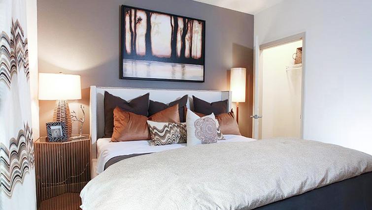 Bedroom at Venue Apartments