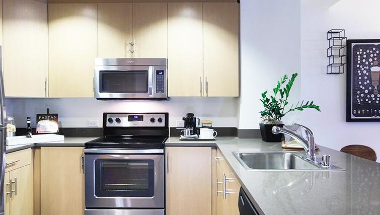 Kitchen at Venue Apartments