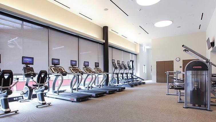 Gym at Venue Apartments