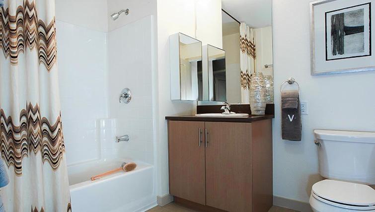 Bathroom at Venue Apartments