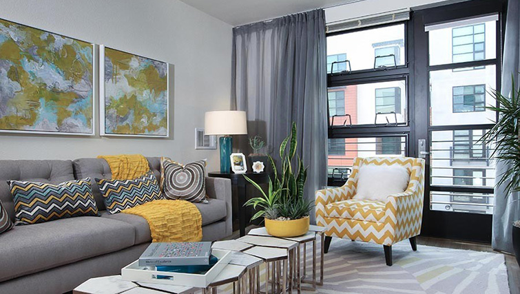 Lounge at Venue Apartments