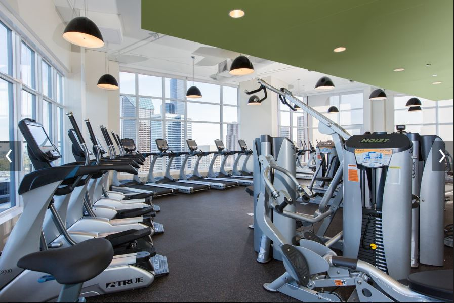 Fitness centre at Cielo Apartments