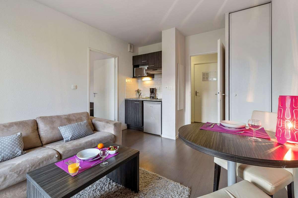 Living room at Juncasse Argoulets