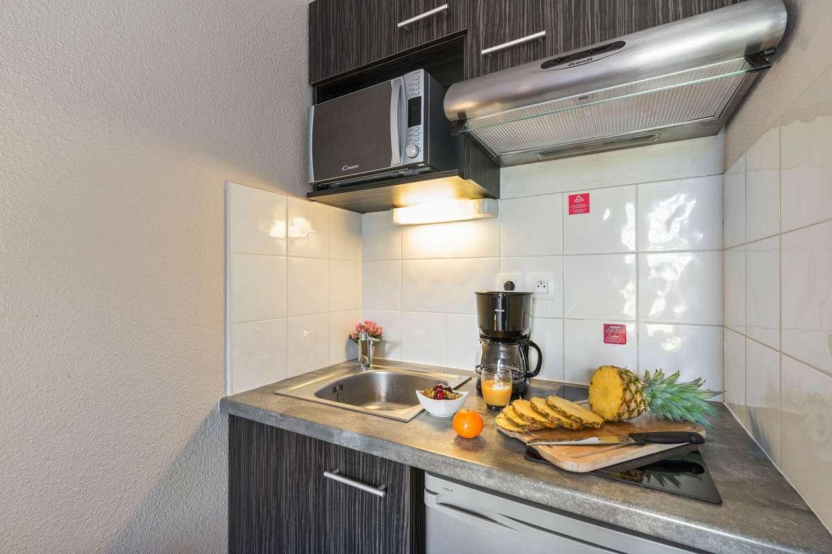 Kitchen at Juncasse Argoulets