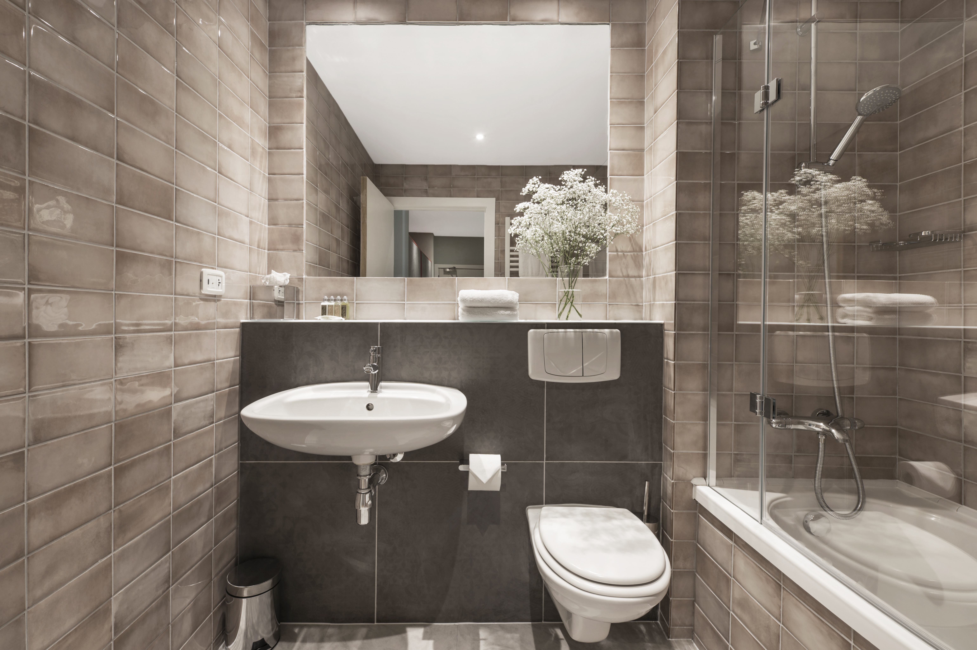 Bathroom at Church Street Aparthotel