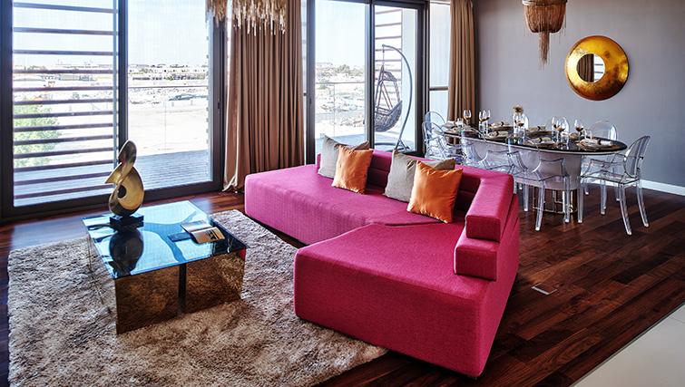 Sofa at City Walk Serviced Apartments
