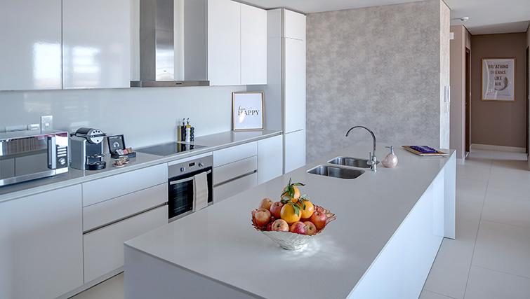 Kitchen at City Walk Serviced Apartments