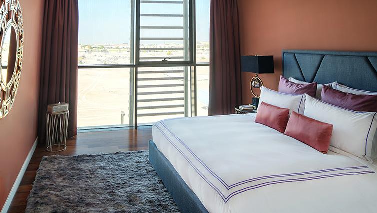 Bedroom at City Walk Serviced Apartments