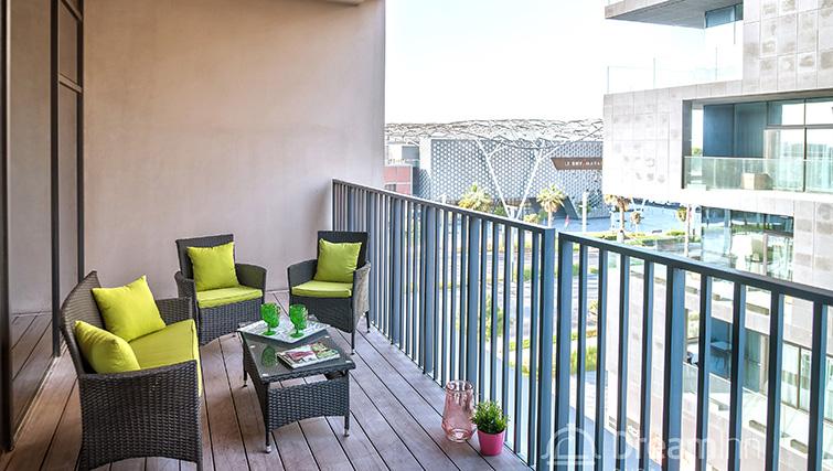 Balcony at City Walk Serviced Apartments
