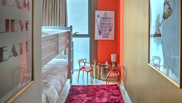 Bunk beds at City Walk Serviced Apartments